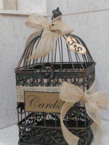 une cage oiseaux dcore et personnalise la marie aux repetto - Urne Mariage Cage
