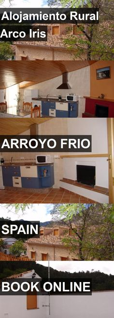 Hotel Alojamiento Rural Arco Iris in Arroyo Frio, Spain. For more information, photos, reviews and best prices please follow the link. #Spain #ArroyoFrio #travel #vacation #hotel