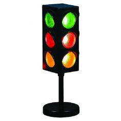 Creative Motion Electrical Traffic Light Table Lamp