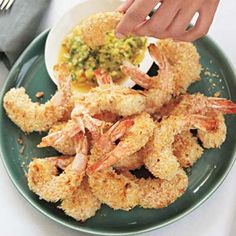 ░ j jump jennifer IS PINSPIRED BY ░ Coconut Shrimp with Pineapple Cilantro Dip
