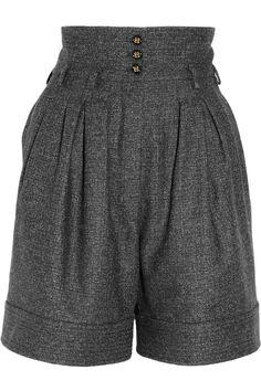 Fab tweed shorts.