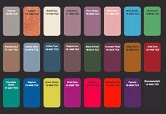 Colores de moda del invierno 2014 / 2015