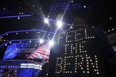 """Sen. Bernie Sanders sent a text message to the leaders of his delegation pleading with them not to protest on the Democratic convention floor Monday night. """"I ask you as a personal courtesy to me to not engage in any kind of protest on the floor,"""" he wrote in the text message to his delegate whips."""