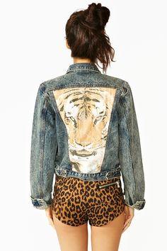 Imprimé léopard + Jean