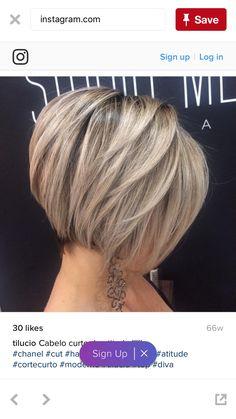 Bob Hairstyle for Fine Hair frisuren feines haar 15 Bob Hairstyles for Fine Hair Stylish Short Hair, Short Hairstyles For Thick Hair, Haircut For Thick Hair, Short Bob Haircuts, Natural Hairstyles, Funky Hairstyles, Layered Hairstyles, Trending Hairstyles, Medium Hairstyles