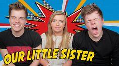 Our Little Sister Our Little Sister, Little Sisters, Pewdiepie, Dan And Phil, Phan, Youtubers, Youtube