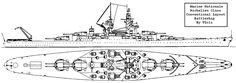 Conventional Richelieu class Battleship by Tzoli