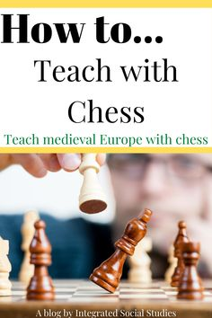 Make your medieval European lessons memorable by teaching the social hierarchies and roles of each class with chess. Learn all about my favorite TpT resource and one of my best lessons on my blog before heading over to my TpT store to purchase. #tptpins #gamesintheclassroom European History, Women In History, World History, Digital History, Social Studies Resources, Teaching Methods, History Teachers, Teacher Blogs, I Am Awesome