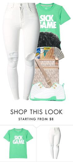 """Sick Game"" by christianna-futrell ❤ liked on Polyvore featuring NIKE and (+) PEOPLE"