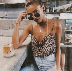 Animal Print: 10 looks with Animal Print to wear this summer .- Animal Print: 10 looks com Animal Print pra usar nesse verão – Animal Print: 10 looks with Animal Print to wear this summer – - Trend Fashion, Fast Fashion, Fashion Killa, Look Fashion, Fashion Women, Urban Fashion, Mode Outfits, Trendy Outfits, Fashion Outfits