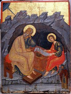 John the Apostle, Evangelist, & Theologian Sons Of Zebedee, Word Of God, Holy Spirit, Eagles, Christ, Saints, Creatures, Saint John, Painting