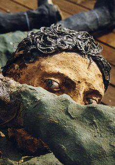 Ousmane Sow Ousmane Sow, Igor Mitoraj, Xavier Veilhan, Sculpture Art, Sculptures, Grave Markers, Clay Figures, African Art, Sculpting