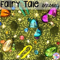 Fairy Tales Activities and Centers - Pocket of Preschool Fairy Tale Crafts, Fairy Tale Theme, Fairy Tale Activities, Princess Activities, Fairy Tales Unit, Crown Crafts, Princess Theme, Princess Crowns, Princess And The Pea