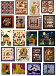 Quilt Inspiration: Quilt Inspiration: Best of Halloween Quilts