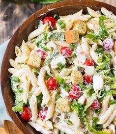 Caesar Pasta Salad   Food- Mafia