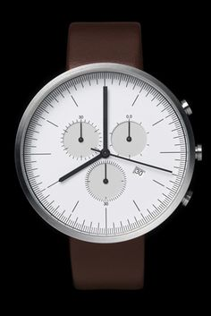 What's the time? Time to lust for these wristwatches from British watchmakers, UniformWares. $799