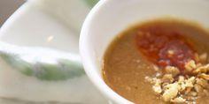 Sauce cacahuète chaude Vegetarian Cooking, Vegetarian Recipes, Healthy Recipes, Marinade Sauce, Asian Recipes, Ethnic Recipes, Chana Masala, Chutney, Food And Drink