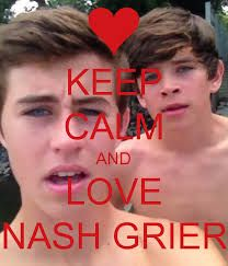 Nash Grier dating mahonie