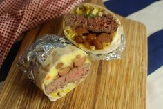 How to make a 4th of July Burrito - The Food in My Beard #ad #wheresyourrhino