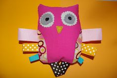 Sweet owl softie for baby gift
