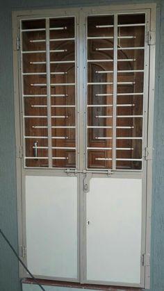 Home Window Grill Design, Door Gate Design, Steel Stairs, Iron Gate Design, Stainless Steel Doors, Iron Balcony Railing, Steel Door Design, Front Gate Design, Wood Doors Interior
