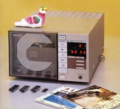 """Sony The first CD player prototype """"Goronta"""" (1981)"""