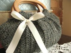 Tweed Fat Bottom Bag