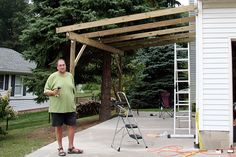 Attached carport plans How to Build an attached carport A carport Step by step woodworking project about attached pergola plans And garage with attached carport By building