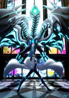 Yu-Gi-Oh! The Dark Side of Dimensions Seto Kaiba Neo Blue-Eyes Ultimate Dragon