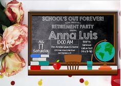 Teacher Retirement Invitation. Retirement Invitation.
