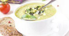 Recette de Soupe de courgette et aubergine. Facile et rapide à réaliser, goûteuse et diététique. Ingrédients, préparation et recettes associées.