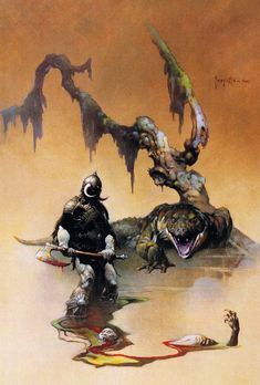 Cap'n's Comics: Tooth And Claw by Frank Frazetta