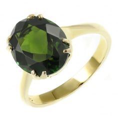 £367.50 9ct yellow gold 10x8mm oval green tourmaline ring. Code: 0140225   https://www.mrharoldandson.com/jewellery-c40/rings-c1/gemstone-rings-c17/9ct-yellow-gold-10x8mm-oval-green-tourmaline-ring-p1279 #GoldJewelleryGreenTourmaline