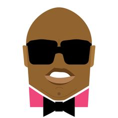 Cee Lo Green Illustration. #Illustrations and #Designs by Jag Nagra #graphic