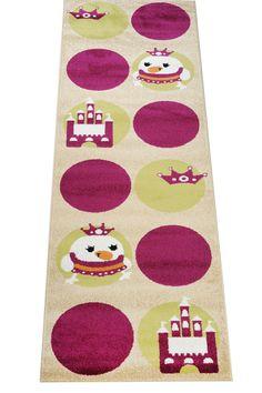 Der Kinderteppich Läufer Küken aus der Happy Friends Teppich Kollektion ist äußerst beliebt und macht im Kinderzimmer oder Spielzimmer eine tolle Figur.