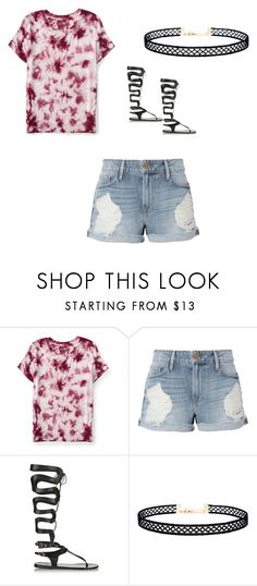 """Untitled #410"" by austynh on Polyvore featuring Aéropostale, Frame, Ancient Greek Sandals and LULUS"