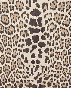 Cowtan and tout fabric / Leopard