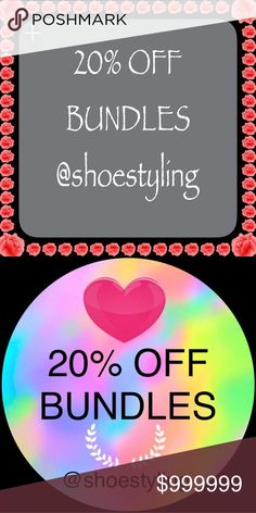 30% Off BundlesLowest discount on Posh 30% Off Bundles Of 2 Or More To Celebrate SummerI have some fun $10 & under items that when added to bundle will give you discount. 30% is lowest discount available on Poshmark  Other