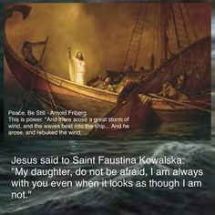 The first Sunday after Easter is Divine Mercy Sunday. This is dedicated to St. Faustina and Blessed...