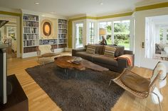 Living Room - contemporary - Family Room - Portland - Emerick Architects