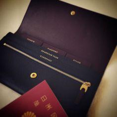 Travel Wallet~ Smythson ❤️