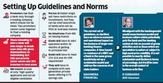 #RBI to closely watch new guidelines and norms for approving #bank licences to private players