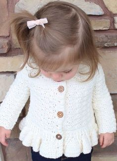 45 Free baby sweater crochet patterns - Page 5 of 45 - hotcrochet .com # knitting patterns free skirt girl 45 Free baby sweater crochet patterns - Page 5 of 45 - hotcrochet . Crochet Baby Sweater Pattern, Crochet Baby Sweaters, Baby Sweater Patterns, Baby Girl Sweaters, Baby Girl Crochet, Crochet Baby Clothes, Crochet For Kids, Free Crochet, Free Knitting