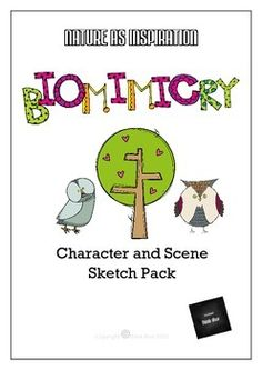 STEAM - Character and Scene Sketch Pack - Biomimicry for Young Children b150d3ce347b