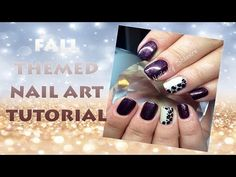 How To: Gelish Fall Nail Art Tutorial - http://47beauty.com/nails/index.php/2016/07/31/how-to-gelish-fall-nail-art-tutorial/ http://47beauty.com/nails/index.php/nail-art-designs-products/  In this tutorial, I have decided to show 4 of my most asked for designs during the Fall! I've chosen to use the new Gelish 'Get ColorFall' collection to show you these designs. The only two colours I have not used are Berry Buttoned Up (Purple Metallic Shimmer) and Whose C