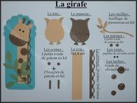Lolascrap and company: Tuto punch art animals of the savannah