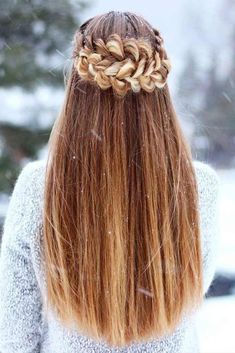 chunky dutch crown braids for the perfect winter hairstyle