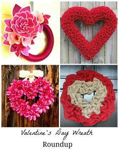 Valentine's Day Wreath Roundup - BonBon Rose Girls