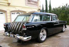 1955 Chevrolet Nomad Wagon Photos - e-carpictures.com