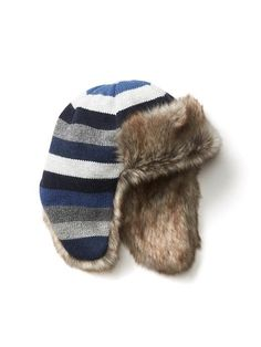 c6871390d0be9 Baby Boys  Dinosaur Print Fedora Hat - Blue - Genuine Kids® from ...